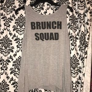 """Graphic tee """"brunch squad"""""""